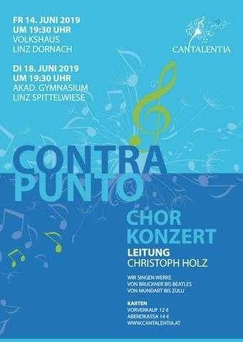 Chorkonzert CONTRAPUNTO - Bild 1