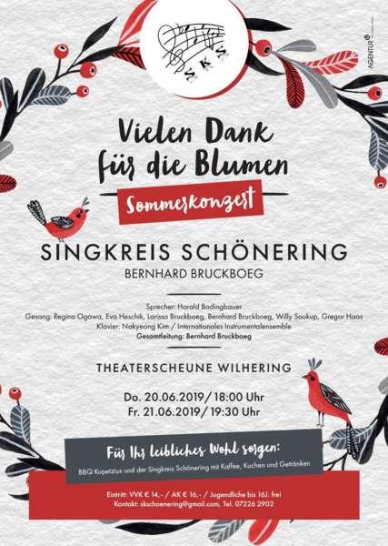 Sommerkonzert 2019 Singkreis Schönering - Bild 1