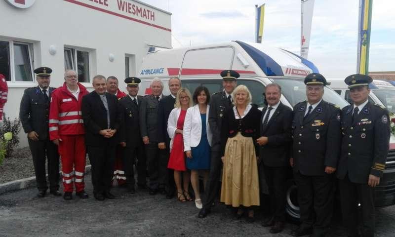 40 Jahre Rotes Kreuz: neue Ortsstelle in Wiesmath eröffnet - Bild 1