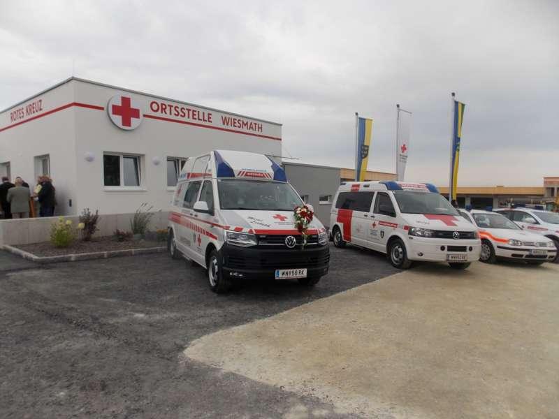 40 Jahre Rotes Kreuz: neue Ortsstelle in Wiesmath eröffnet - Bild 2