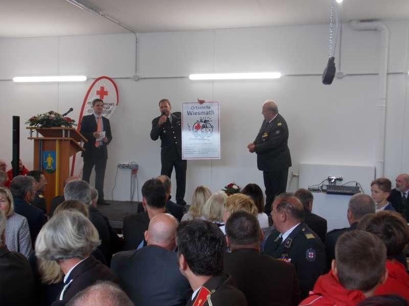40 Jahre Rotes Kreuz: neue Ortsstelle in Wiesmath eröffnet - Bild 6