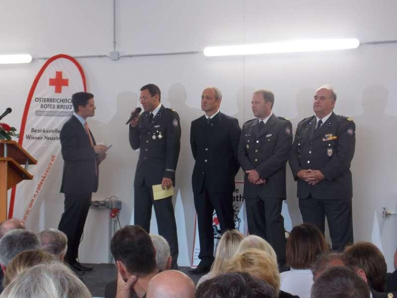 40 Jahre Rotes Kreuz: neue Ortsstelle in Wiesmath eröffnet - Bild 7