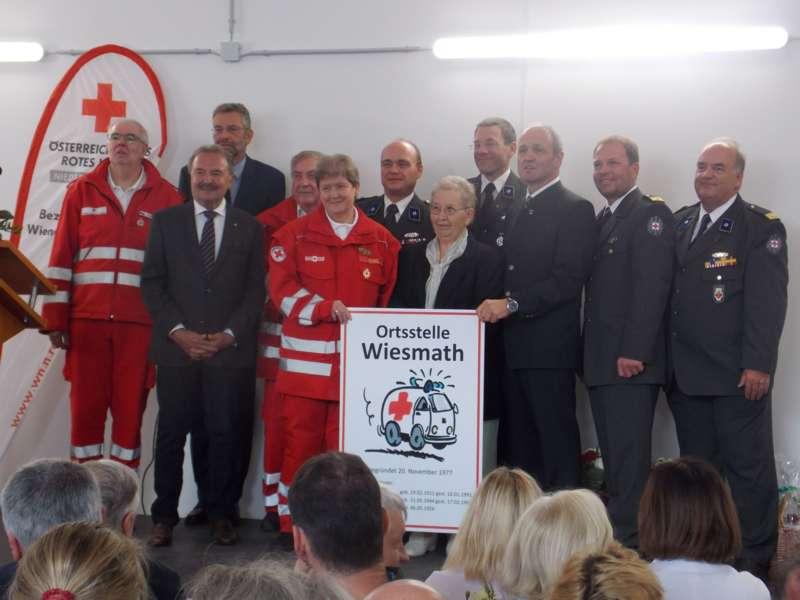 40 Jahre Rotes Kreuz: neue Ortsstelle in Wiesmath eröffnet - Bild 8