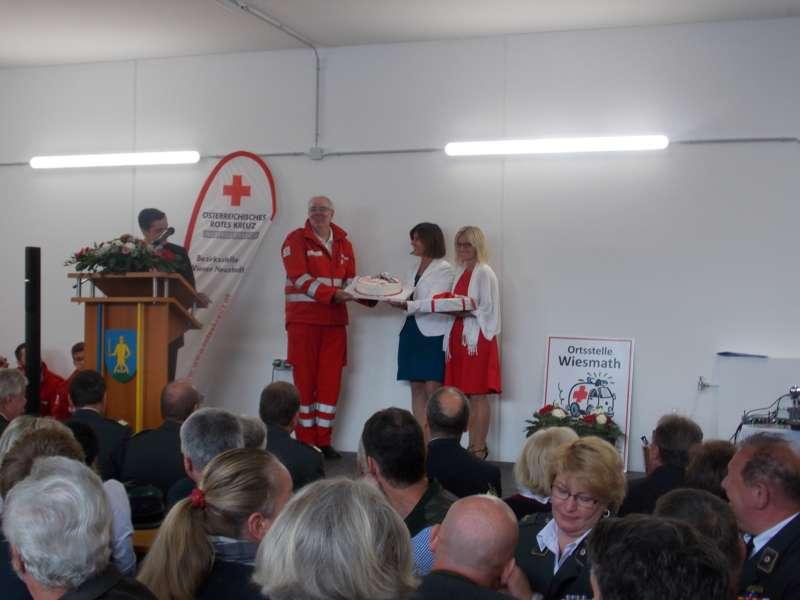 40 Jahre Rotes Kreuz: neue Ortsstelle in Wiesmath eröffnet - Bild 9