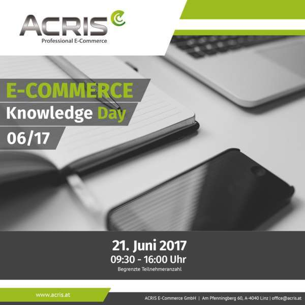 ACRIS E-COMMERCE Knowledge Day 06/17 - Bild 1
