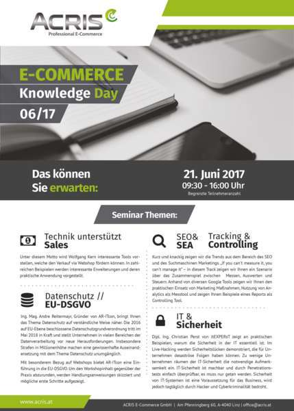 ACRIS E-COMMERCE Knowledge Day 06/17 - Bild 3