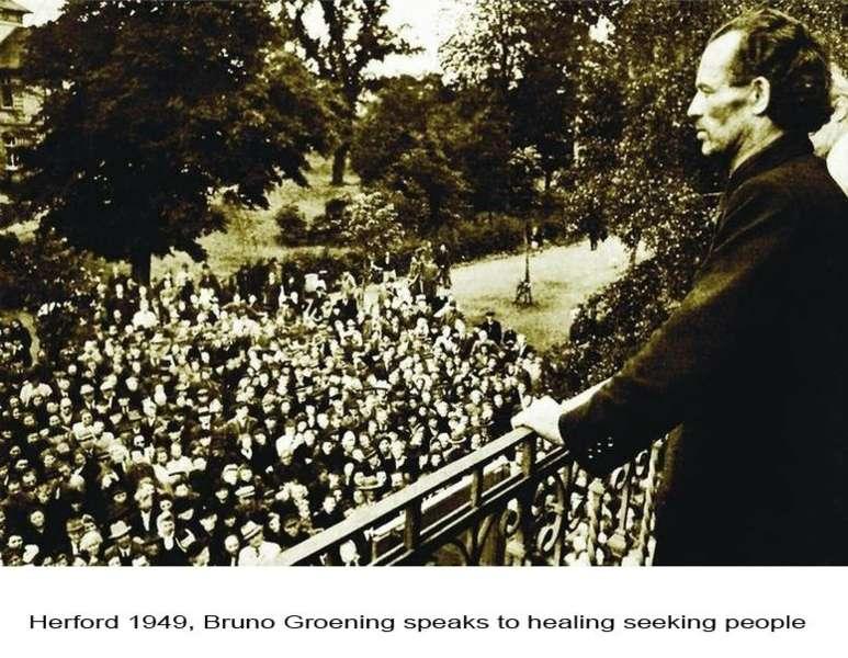"""Dokumentarfilm: """"Das Phänomen Bruno Gröning"""" – die Sensation von 1949 - heute wieder hochaktuell"""