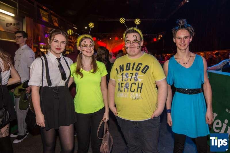 Faschings Clubbing 2018 Messehalle Freistadt - Bild 48