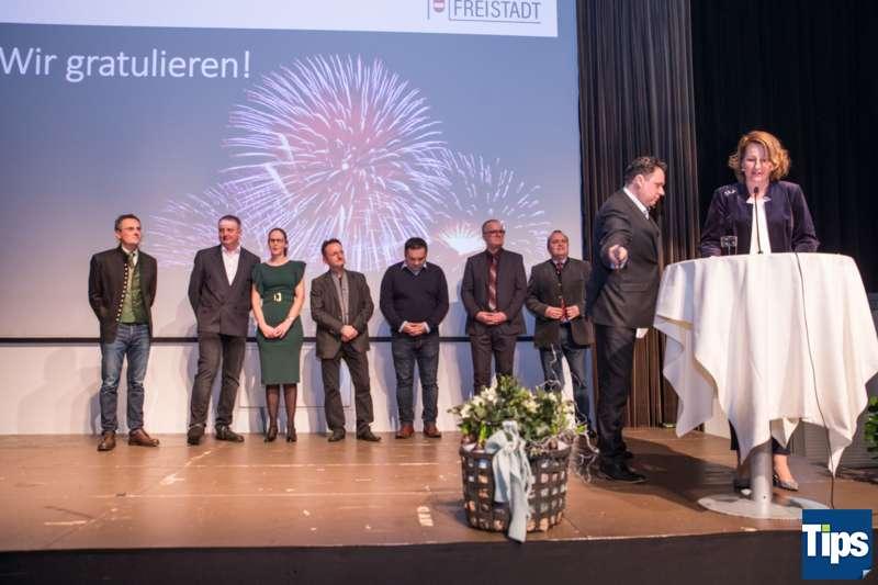 Neujahrsempfang Stadtgemeinde Freistadt mit Bürgermeisterin Paruta-Teufer - Bild 53