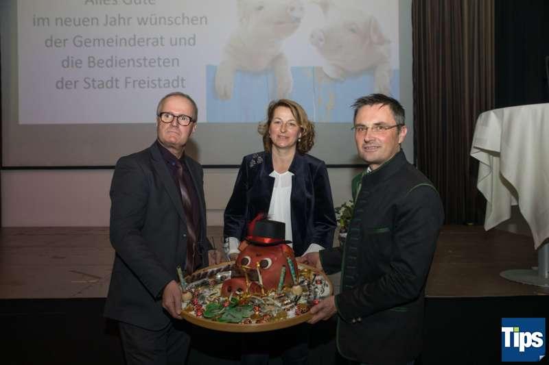 Neujahrsempfang Stadtgemeinde Freistadt mit Bürgermeisterin Paruta-Teufer - Bild 62