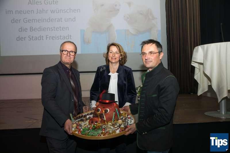 Neujahrsempfang Stadtgemeinde Freistadt mit Bürgermeisterin Paruta-Teufer - Bild 79
