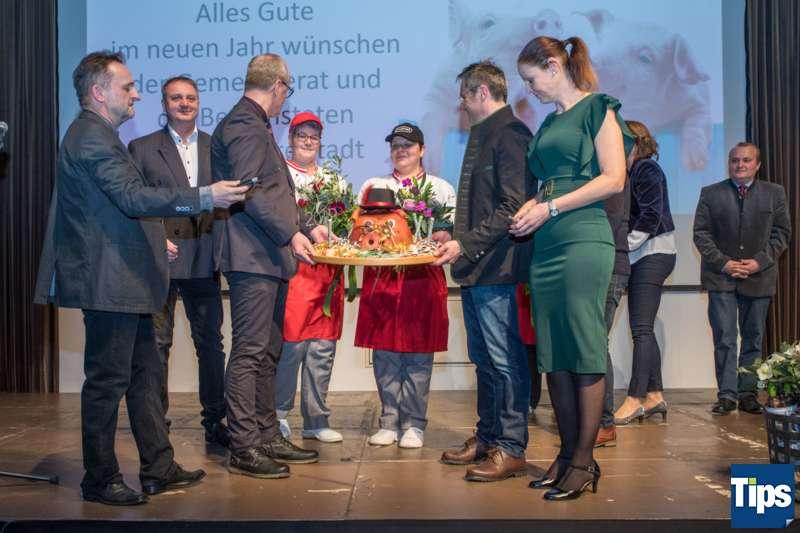 Neujahrsempfang Stadtgemeinde Freistadt mit Bürgermeisterin Paruta-Teufer - Bild 110