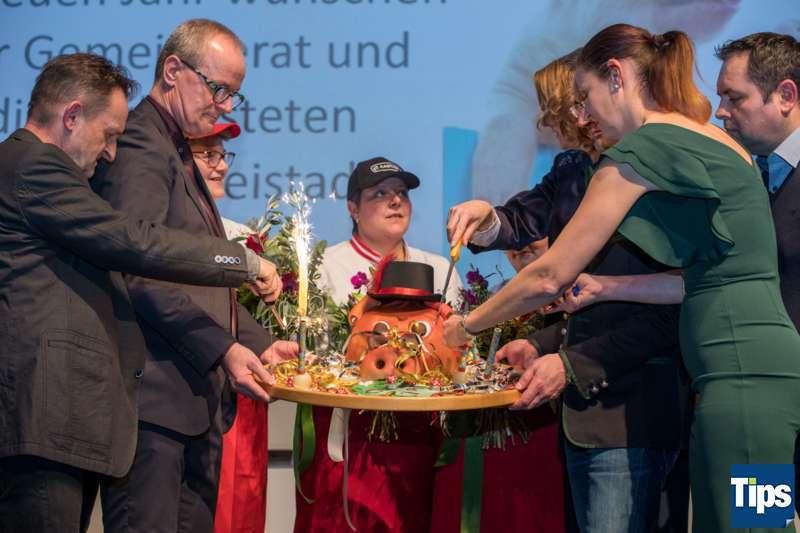 Neujahrsempfang Stadtgemeinde Freistadt mit Bürgermeisterin Paruta-Teufer - Bild 114