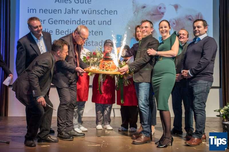 Neujahrsempfang Stadtgemeinde Freistadt mit Bürgermeisterin Paruta-Teufer - Bild 129