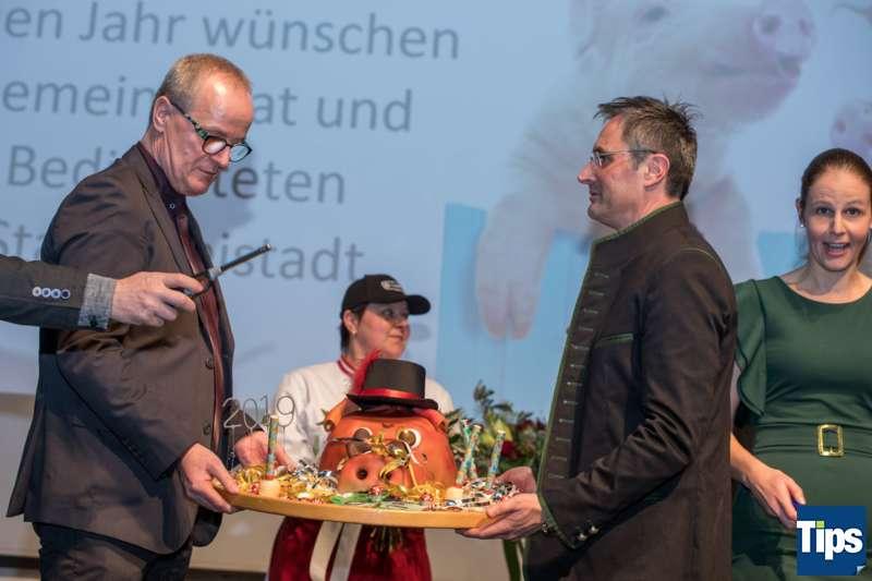 Neujahrsempfang Stadtgemeinde Freistadt mit Bürgermeisterin Paruta-Teufer - Bild 145