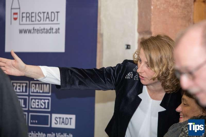 Neujahrsempfang Stadtgemeinde Freistadt mit Bürgermeisterin Paruta-Teufer - Bild 155