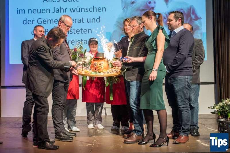 Neujahrsempfang Stadtgemeinde Freistadt mit Bürgermeisterin Paruta-Teufer - Bild 161