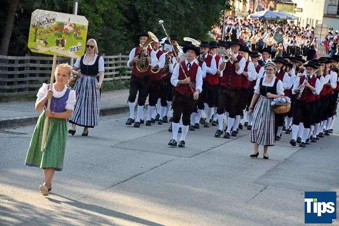 Bezirksmusikfest Riedau - Bild 100