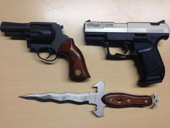 Spielende Kinder in Linz mit Pistole bedroht