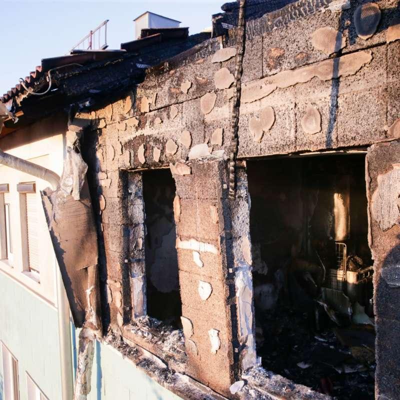 7 Verletzte Bei Wohnungsbrand In Der Neuen Heimat Bewohner Mussten Evakuiert Werden
