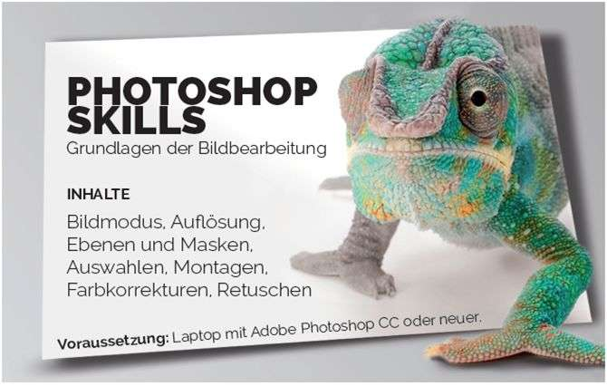 VHS-Krems: Photoshop - Grundlagen - Bild 1
