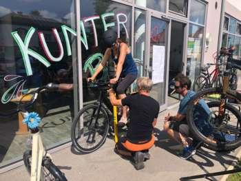 Mountainbiken / Fahrtechnik- und Geschicklichkeits-training