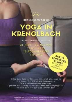Yoga Schnupperstunde im Kunterbunt