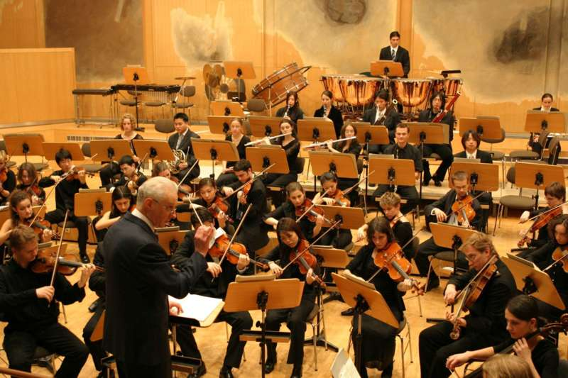 Sinfonieorchester der Universität  Mozarteum - Bild 1100635027