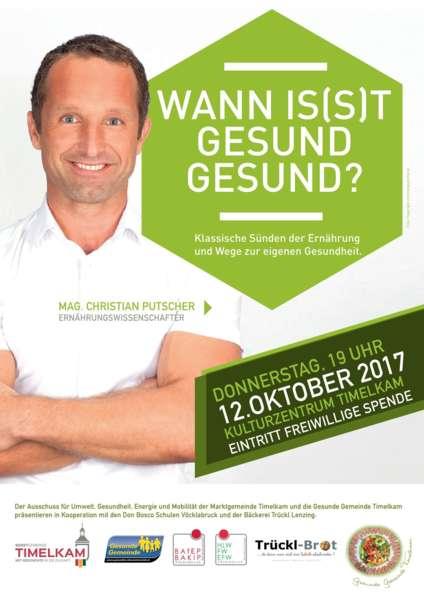 Mag. Christian Putscher: Wann is(s)t gesund gesund? - Bild 1