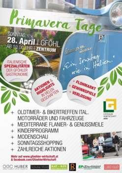 Primavera  Ein Sonntag wie in Italien 28. April 2019
