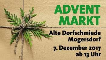 Adventmarkt in der alten Dorfschmiede Mogersdorf