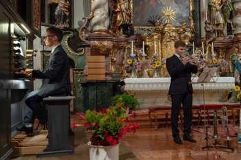 Orgelkonzert mit Trompete: Von Mozart bis Michael Jackson - eine musikalische Zeitreise