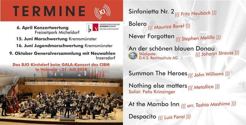 Konzert des BJO Kirchdorf - Bild 2