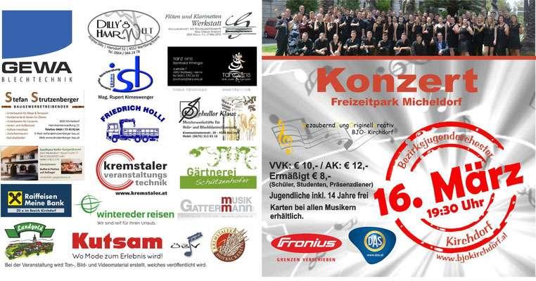 Konzert des BJO Kirchdorf - Bild 1
