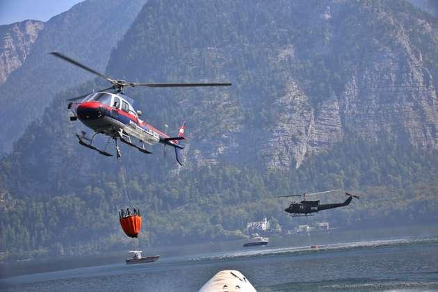 Klettersteig Hallstatt : Feuerwehren kämpfen in hallstatt mit brand klettersteig