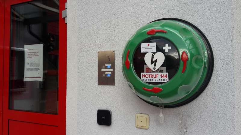 Neuer Ersthelfer-Defibrillator in Bad Ischl verfügbar