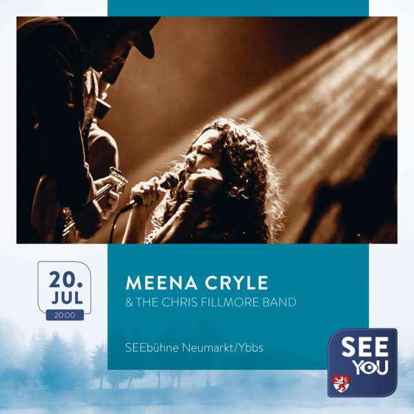 SEE YOU - Meena Cryle & The Chris Fillmore Band - Bild 1