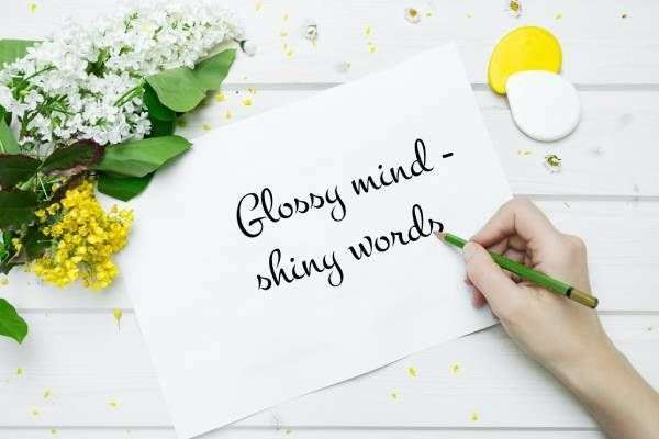 Online-Schreibworkshop: Glossy mind - shiny words - Bild 1
