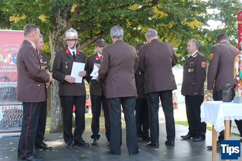 Sicher, Freiwillig, Professionell - Die Freiwillige Feuerwehr Wang feierte 140 Jahre - Bild 23