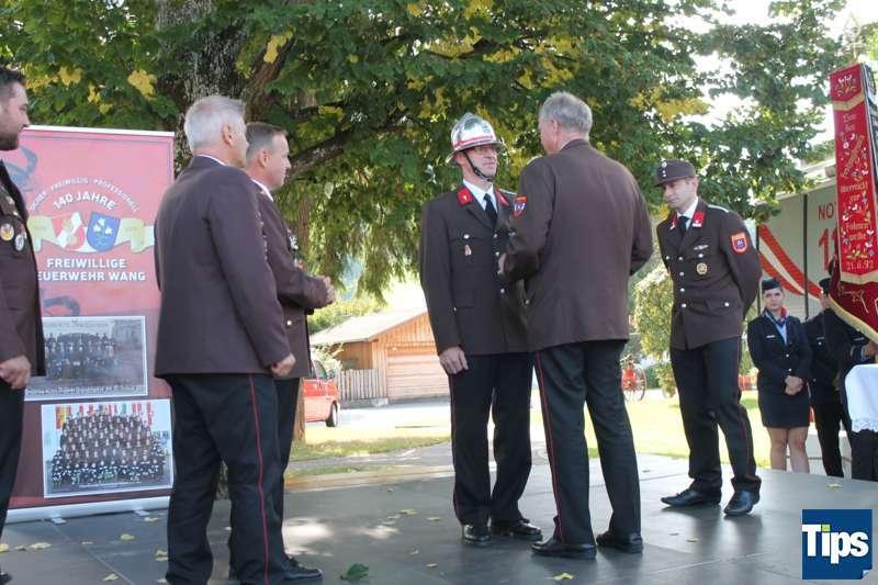 Sicher, Freiwillig, Professionell - Die Freiwillige Feuerwehr Wang feierte 140 Jahre - Bild 27