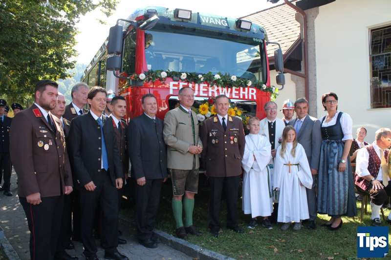 Sicher, Freiwillig, Professionell - Die Freiwillige Feuerwehr Wang feierte 140 Jahre - Bild 35