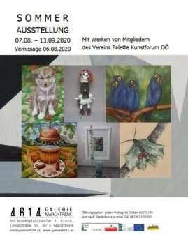 Sommerausstellung in der 4614Galerie Marchtrenk