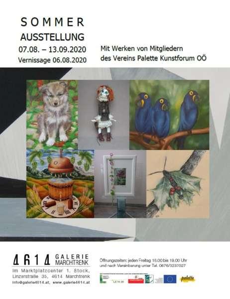 Sommerausstellung in der 4614Galerie Marchtrenk - Bild 1