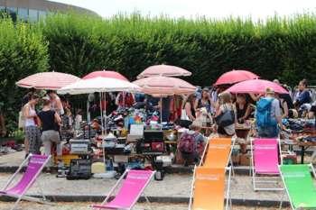 Charity-Flohmarkt-Party