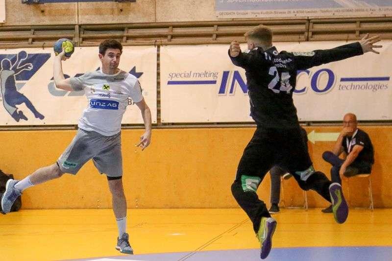 Linzer Handballer schaffen Klassenerhalt in Verlängerung - Bild 14