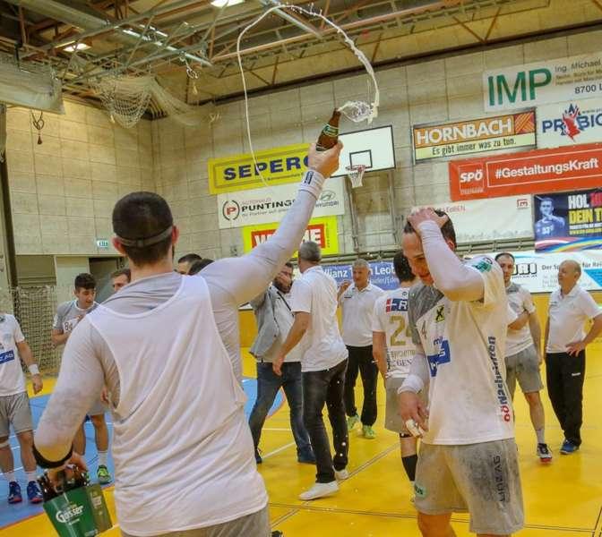 Linzer Handballer schaffen Klassenerhalt in Verlängerung - Bild 31