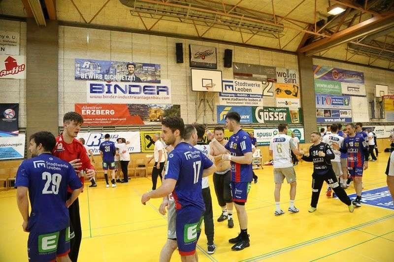 Linzer Handballer schaffen Klassenerhalt in Verlängerung - Bild 32