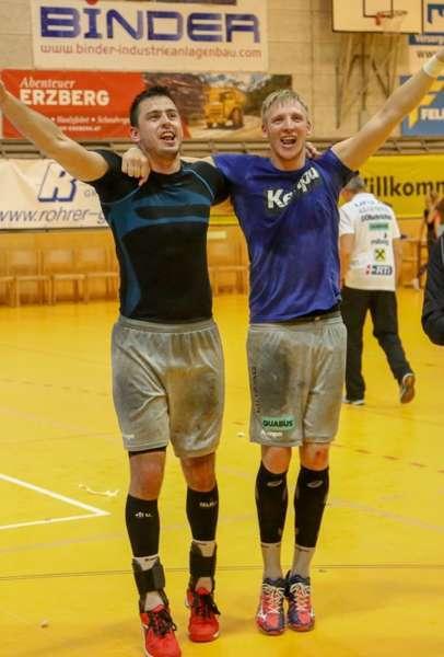 Linzer Handballer schaffen Klassenerhalt in Verlängerung - Bild 33