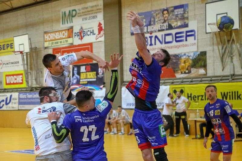 Linzer Handballer schaffen Klassenerhalt in Verlängerung - Bild 34