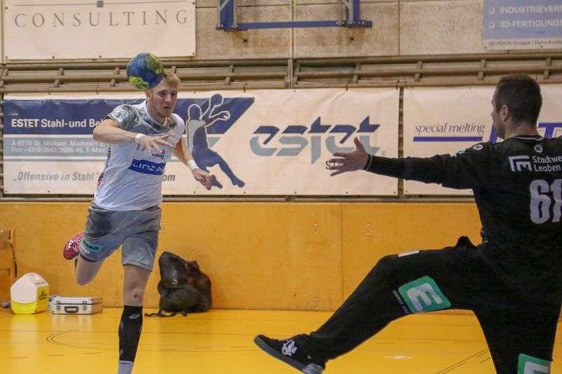 Linzer Handballer schaffen Klassenerhalt in Verlängerung - Bild 44